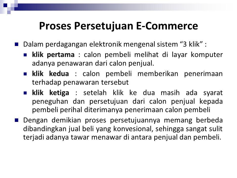 Proses Persetujuan E-Commerce