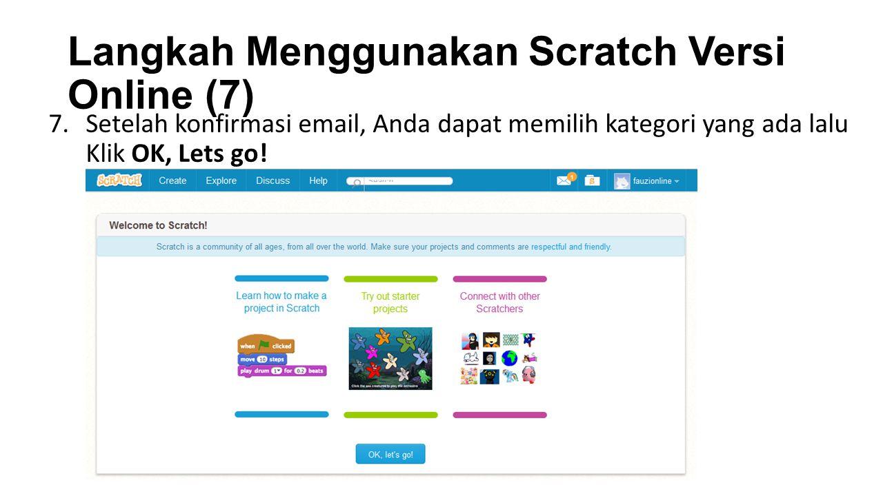 Langkah Menggunakan Scratch Versi Online (7)