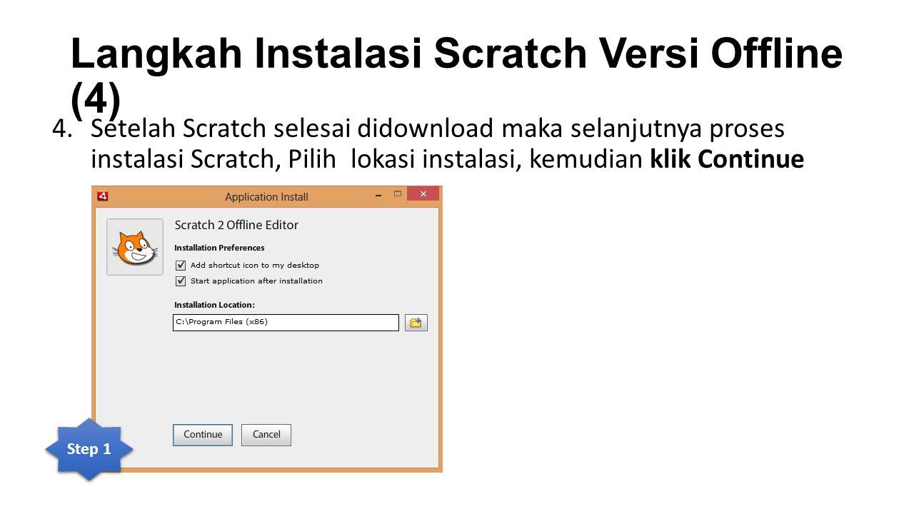 Langkah Instalasi Scratch Versi Offline (4)