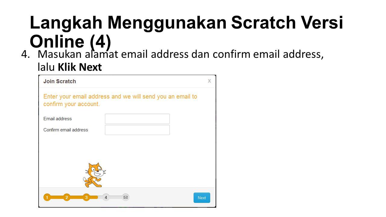 Langkah Menggunakan Scratch Versi Online (4)