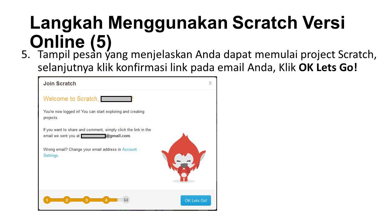 Langkah Menggunakan Scratch Versi Online (5)