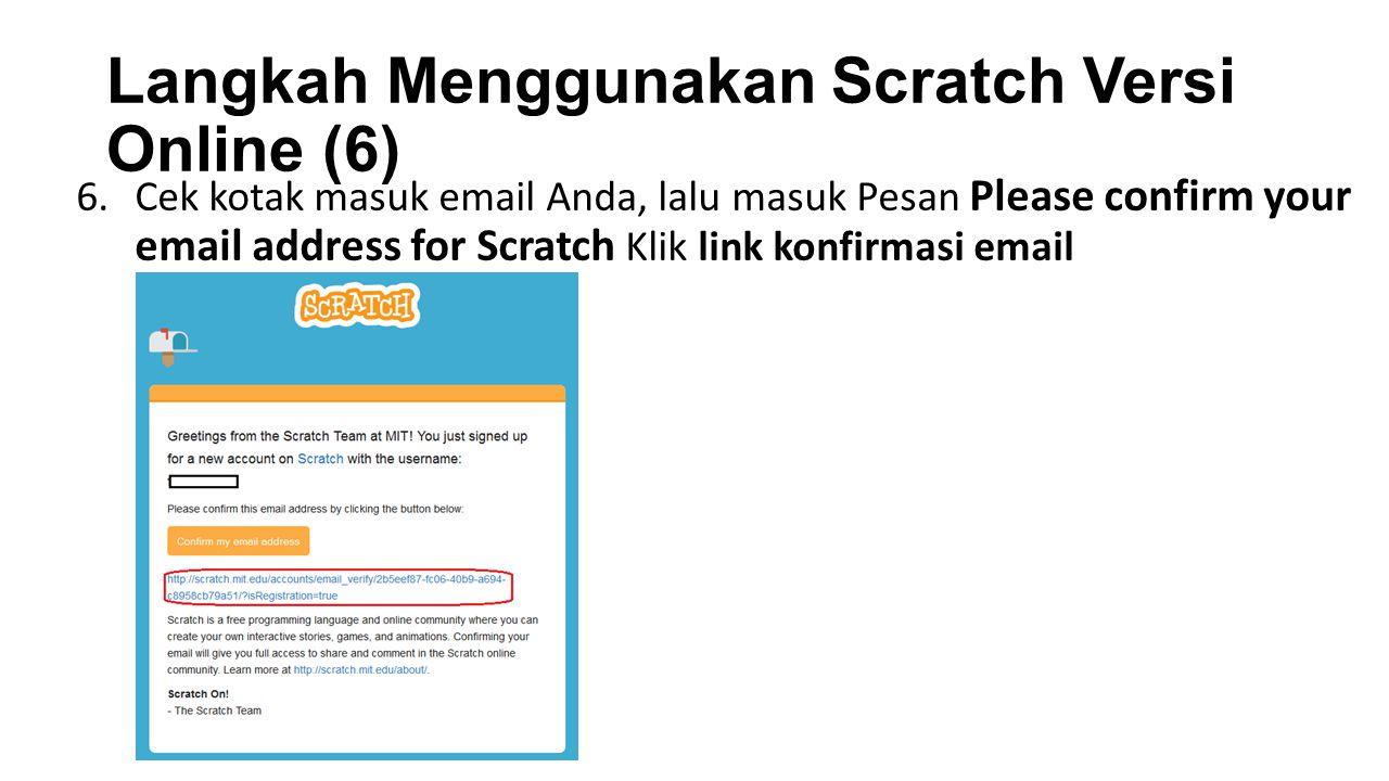 Langkah Menggunakan Scratch Versi Online (6)