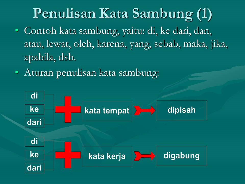 Penulisan Kata Sambung (1)