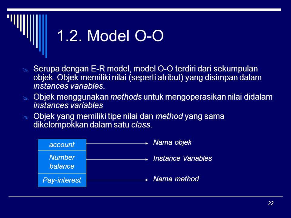 1.2. Model O-O