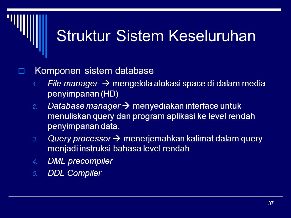 Struktur Sistem Keseluruhan