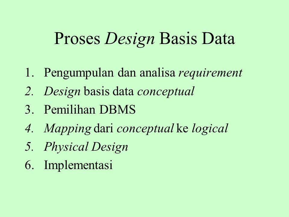 Proses Design Basis Data