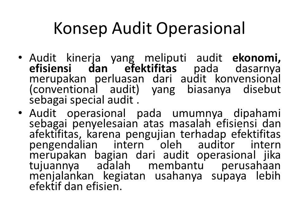 Konsep Audit Operasional