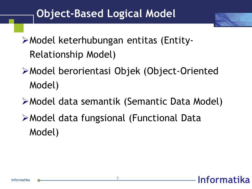 Object-Based Logical Model