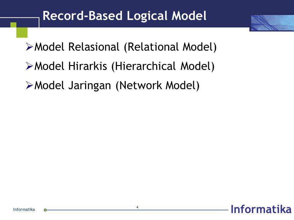 Record-Based Logical Model