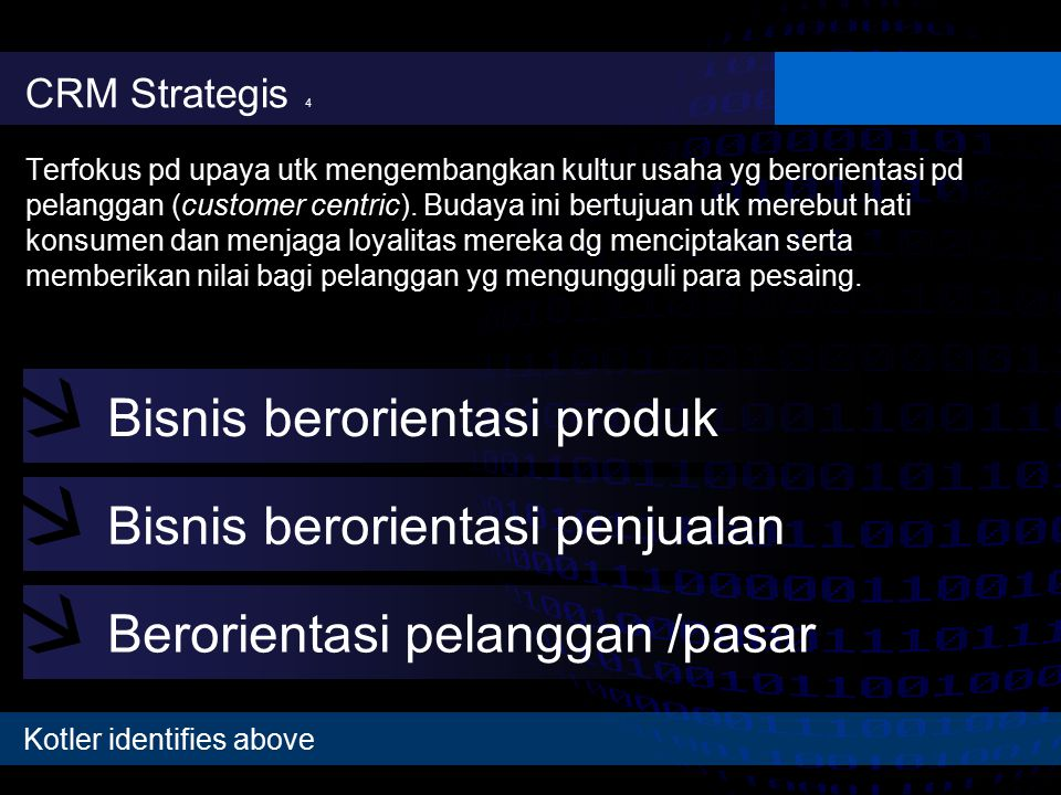 Bisnis berorientasi produk