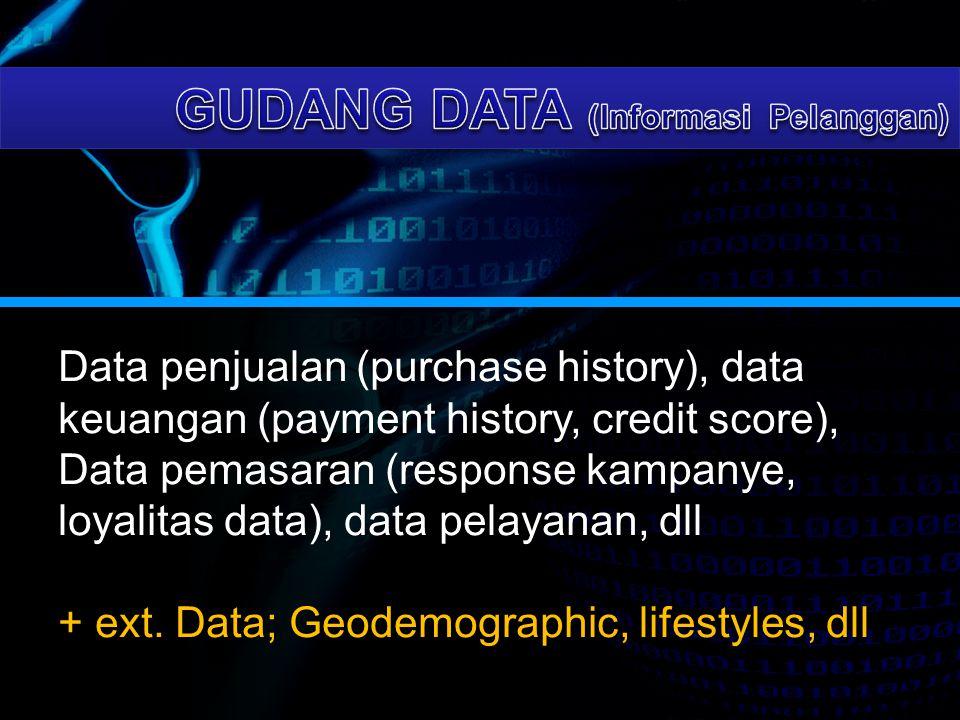 GUDANG DATA (Informasi Pelanggan)