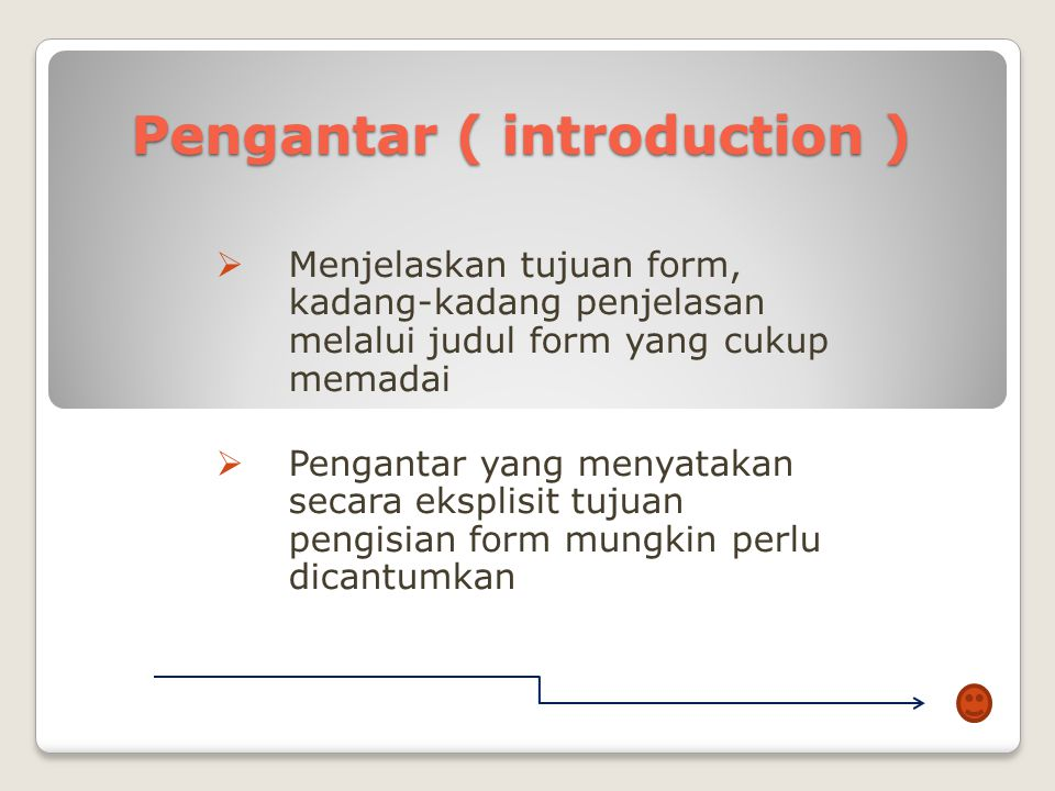 Pengantar ( introduction )