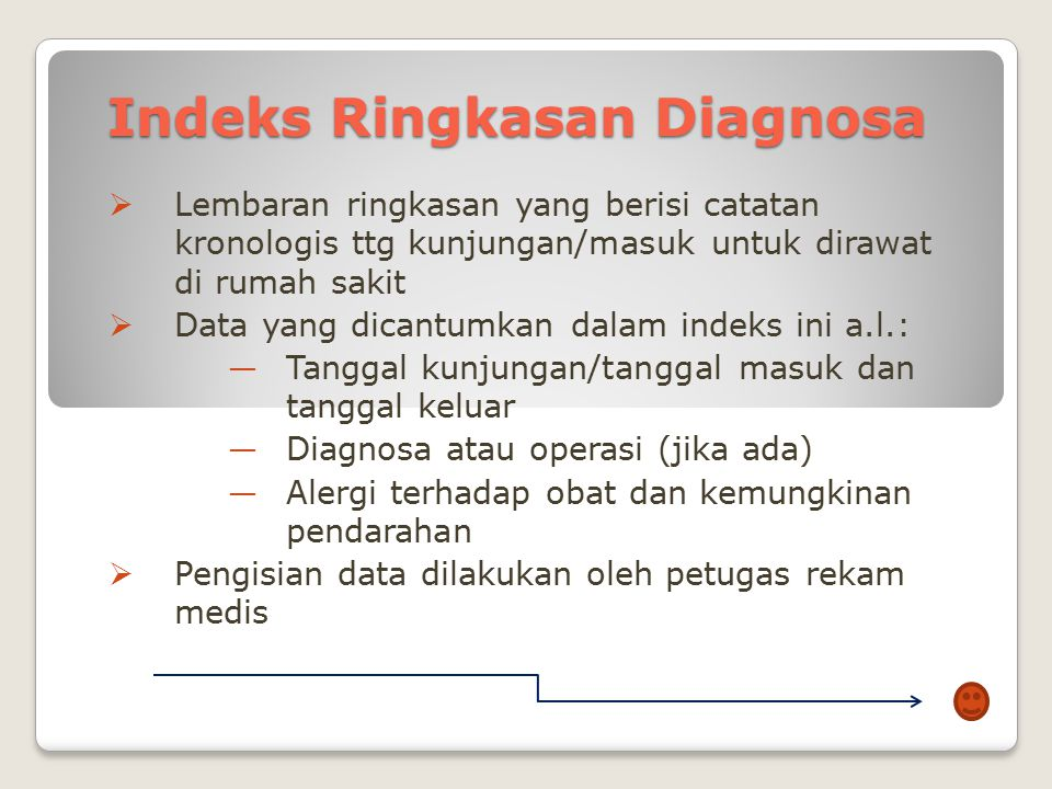 Indeks Ringkasan Diagnosa