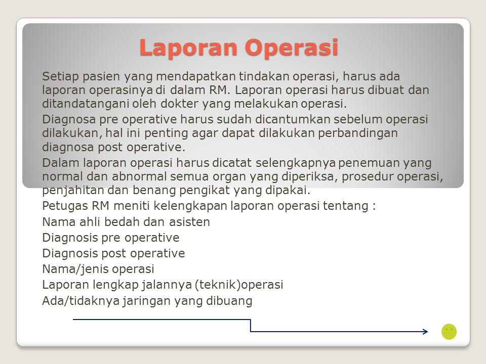 Laporan Operasi