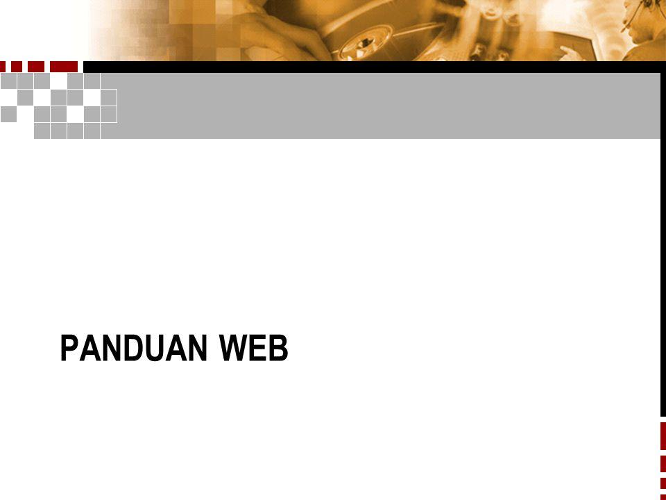 Panduan web