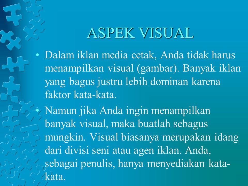 ASPEK VISUAL