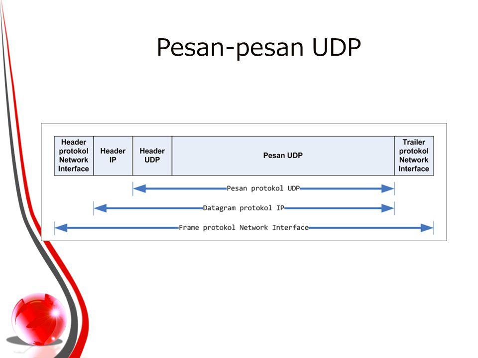 Pesan-pesan UDP