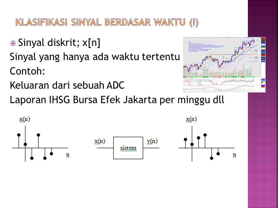 Klasifikasi sinyal berdasar waktu (i)