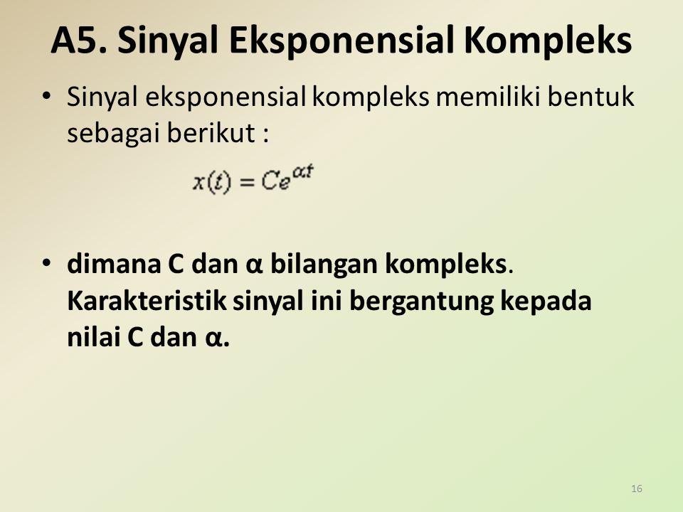 A5. Sinyal Eksponensial Kompleks