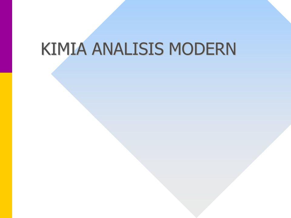 KIMIA ANALISIS MODERN