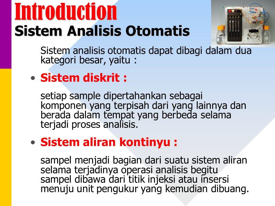 Introduction Sistem Analisis Otomatis