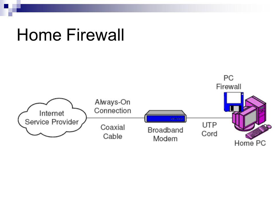 Home Firewall