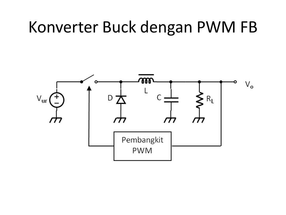 Konverter Buck dengan PWM FB