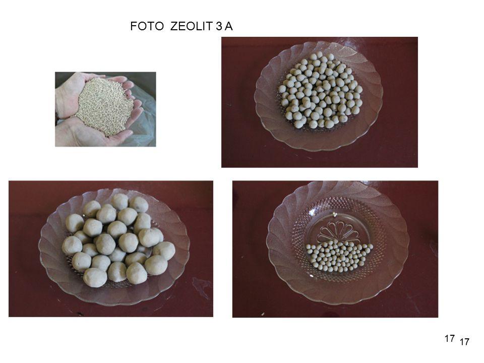 FOTO ZEOLIT 3 A