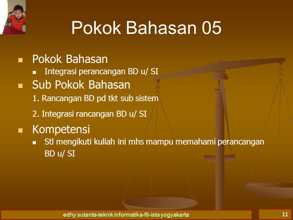 Pokok Bahasan 05 Pokok Bahasan Sub Pokok Bahasan Kompetensi
