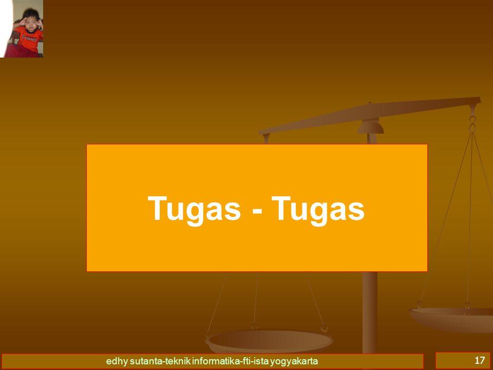 Tugas - Tugas