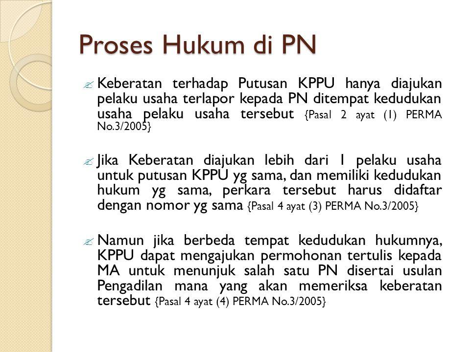 Proses Hukum di PN