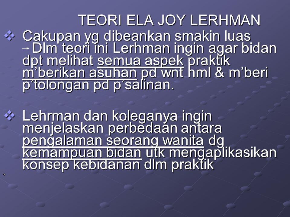 TEORI ELA JOY LERHMAN