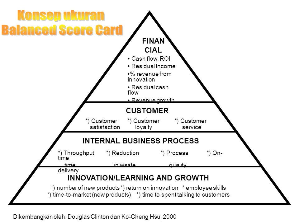 INTERNAL BUSINESS PROCESS INNOVATION/LEARNING AND GROWTH