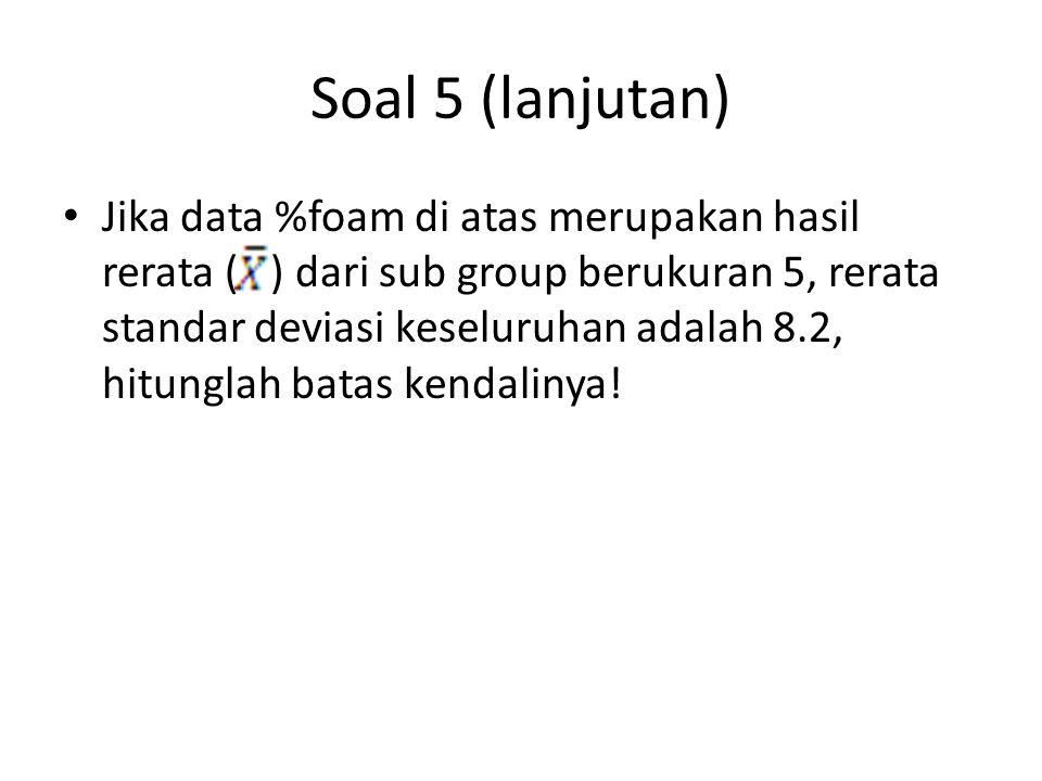 Soal 5 (lanjutan)