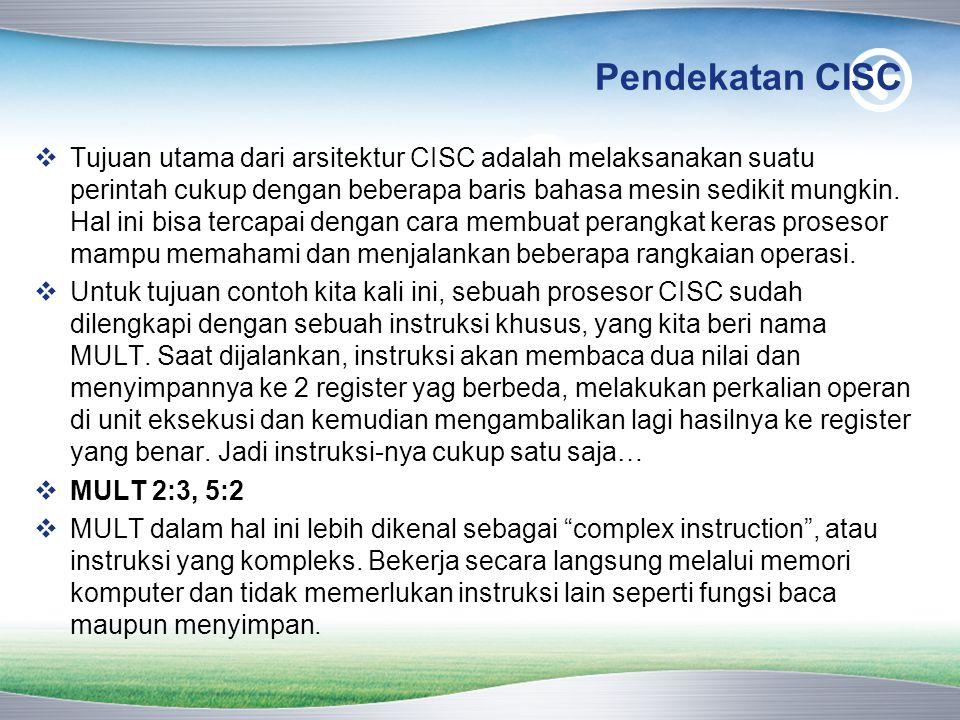 Pendekatan CISC