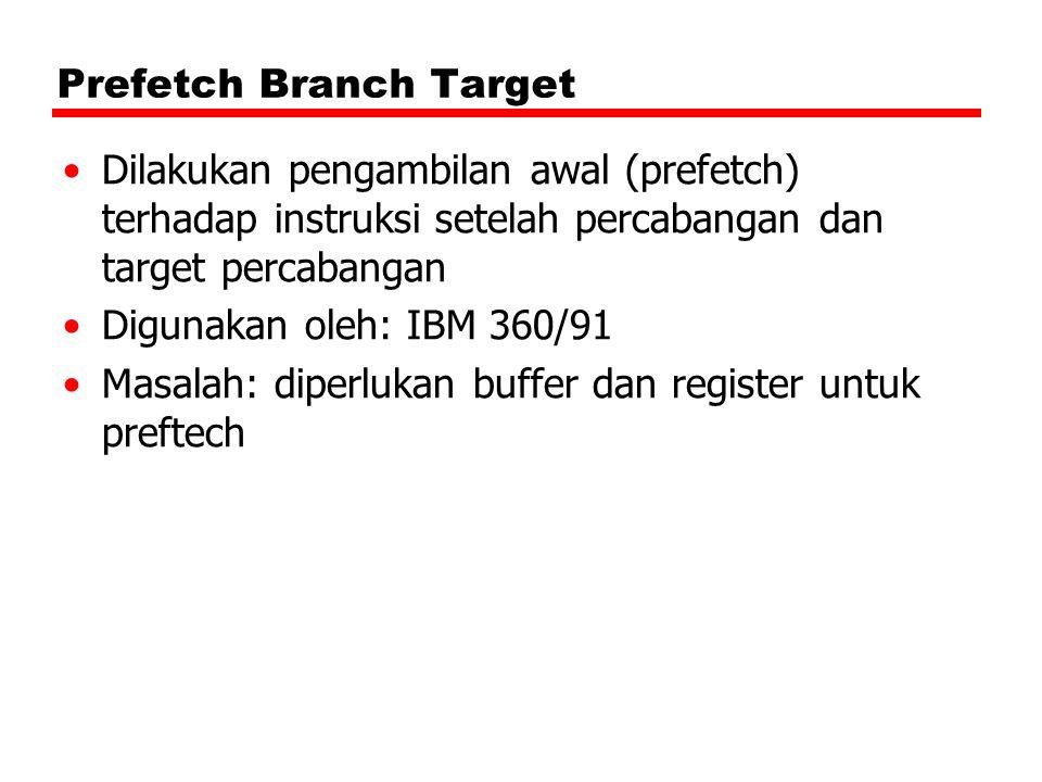 Prefetch Branch Target