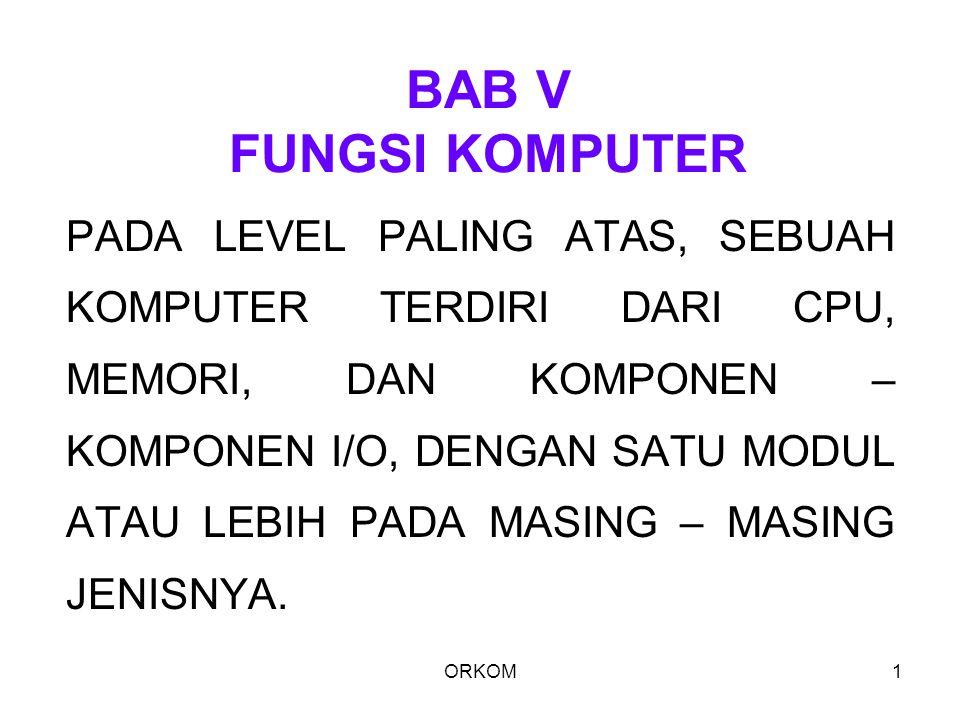 BAB V FUNGSI KOMPUTER