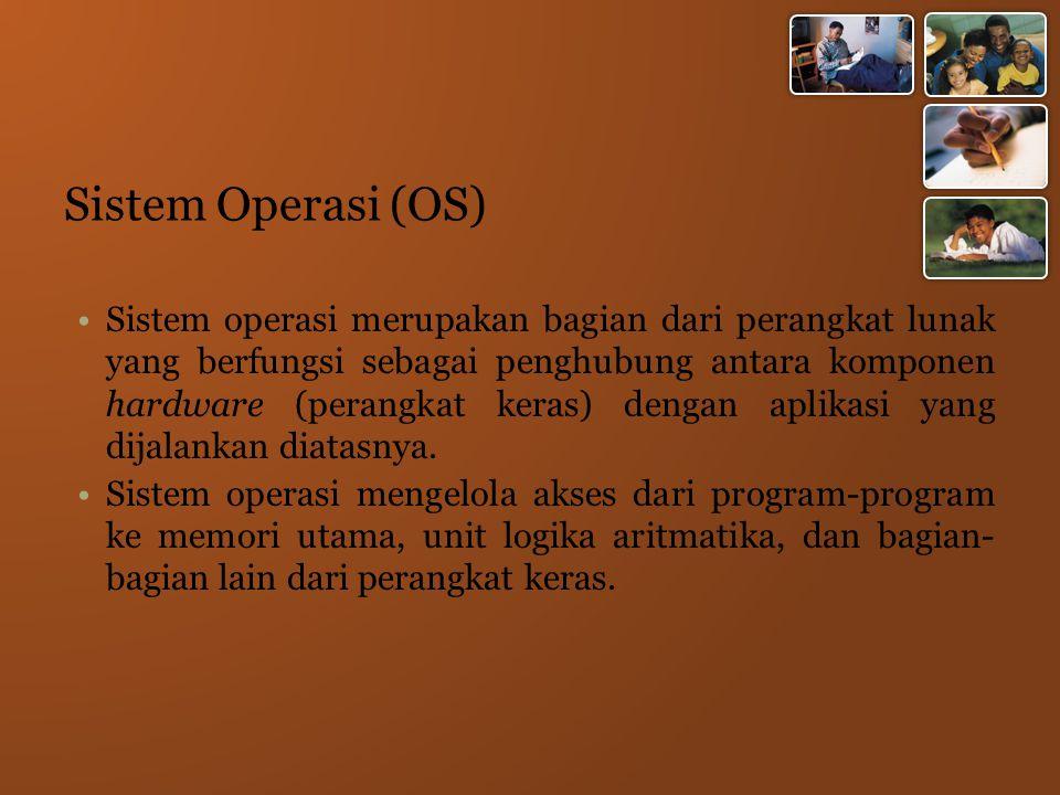Sistem Operasi (OS)