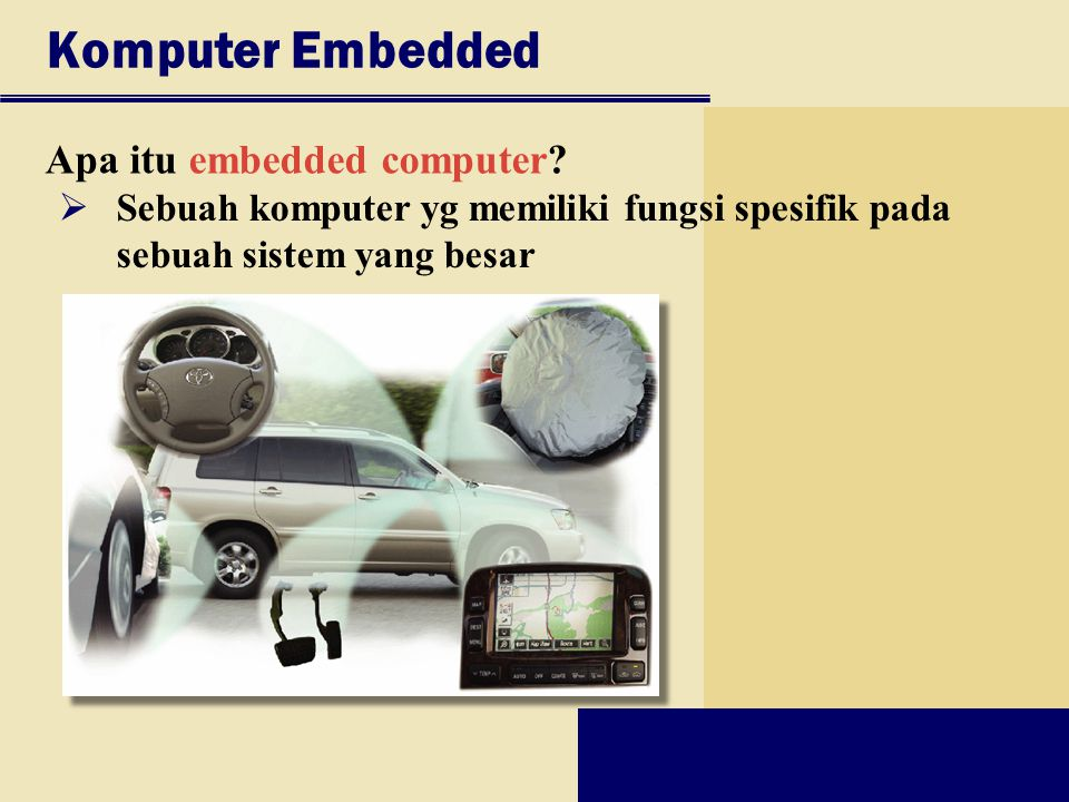 Komputer Embedded Apa itu embedded computer