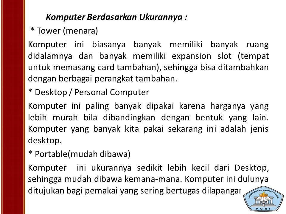 * Desktop / Personal Computer