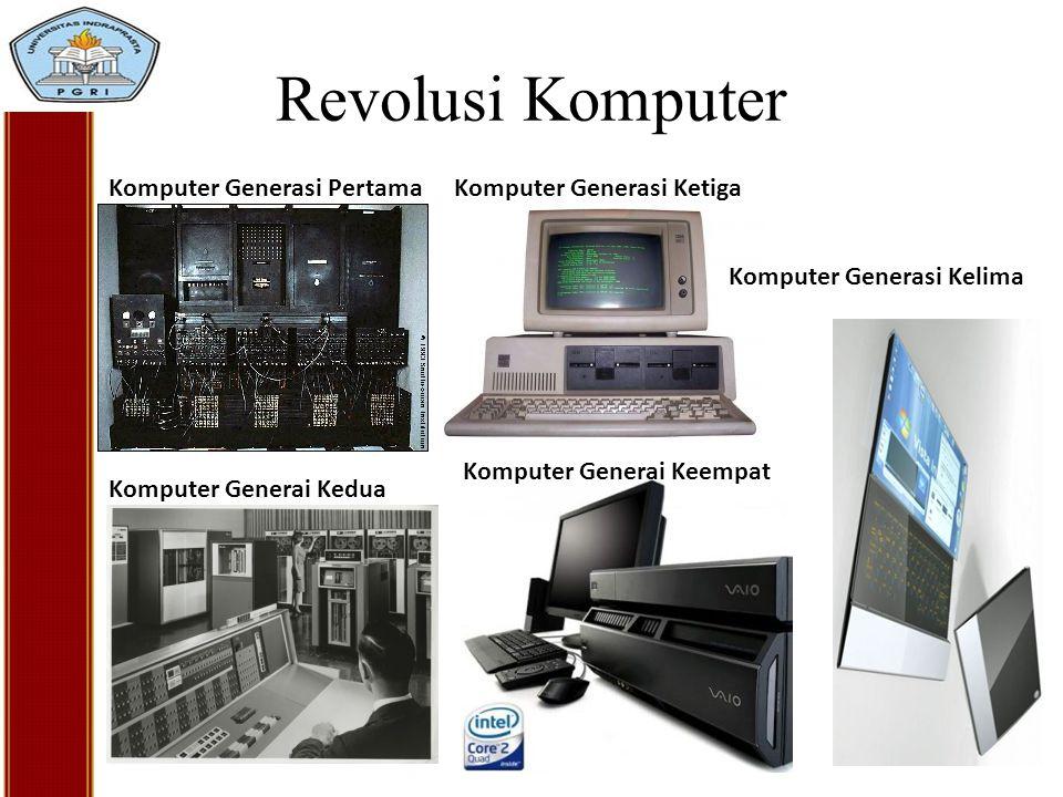 Revolusi Komputer Komputer Generasi Pertama Komputer Generasi Ketiga