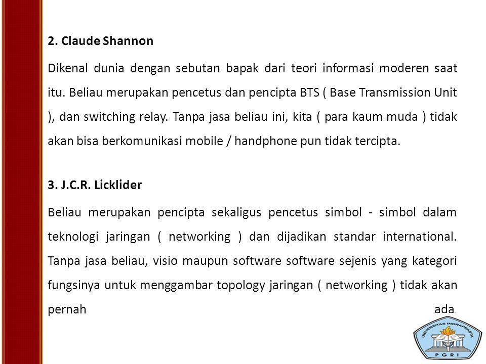 2. Claude Shannon