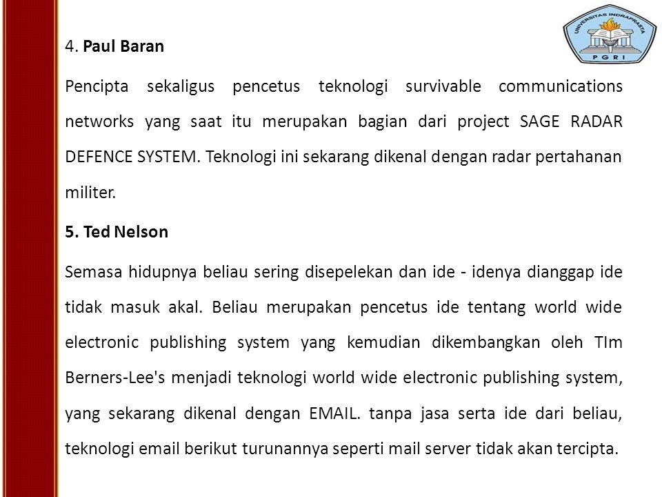 4. Paul Baran