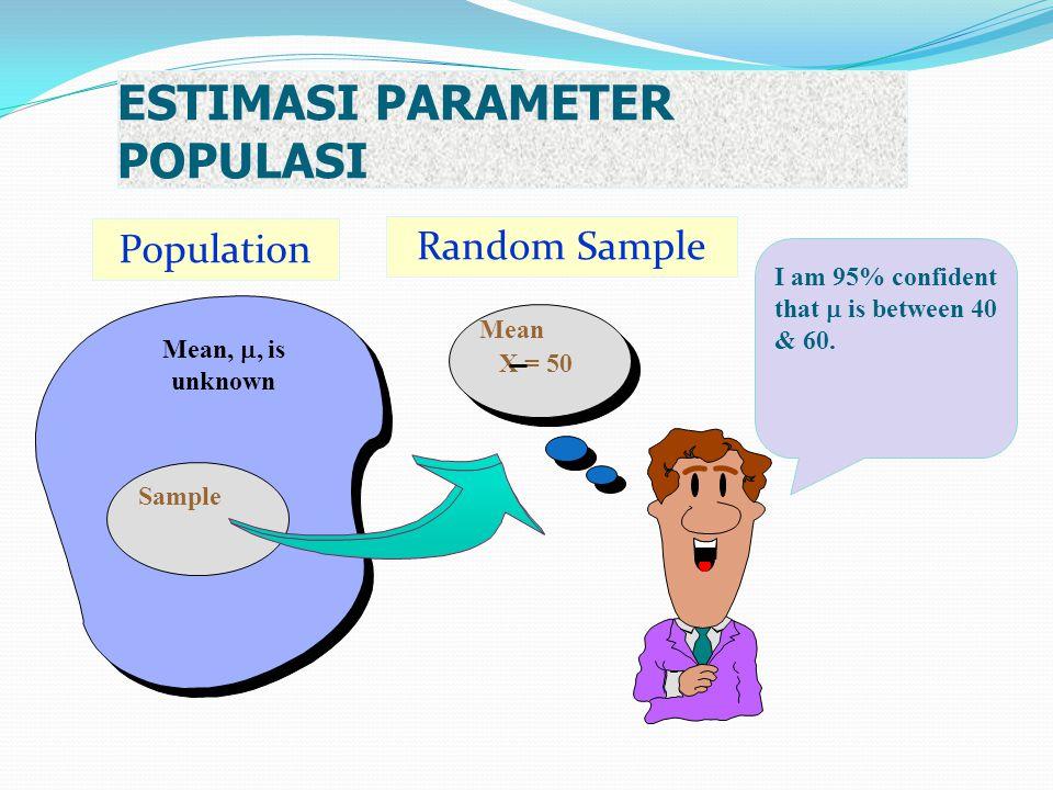 ESTIMASI PARAMETER POPULASI