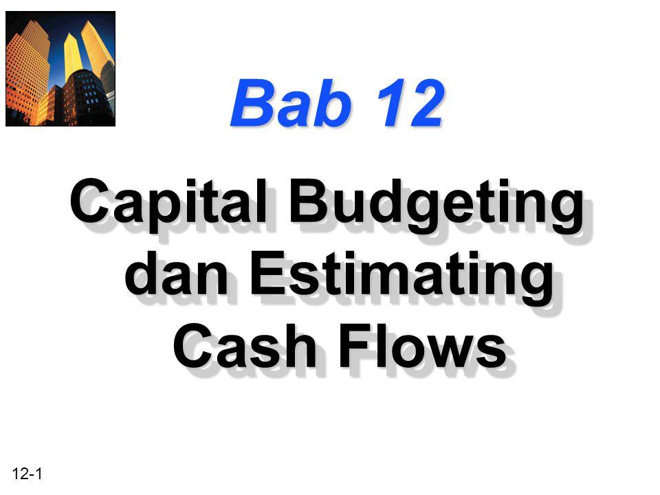 Capital Budgeting dan Estimating Cash Flows