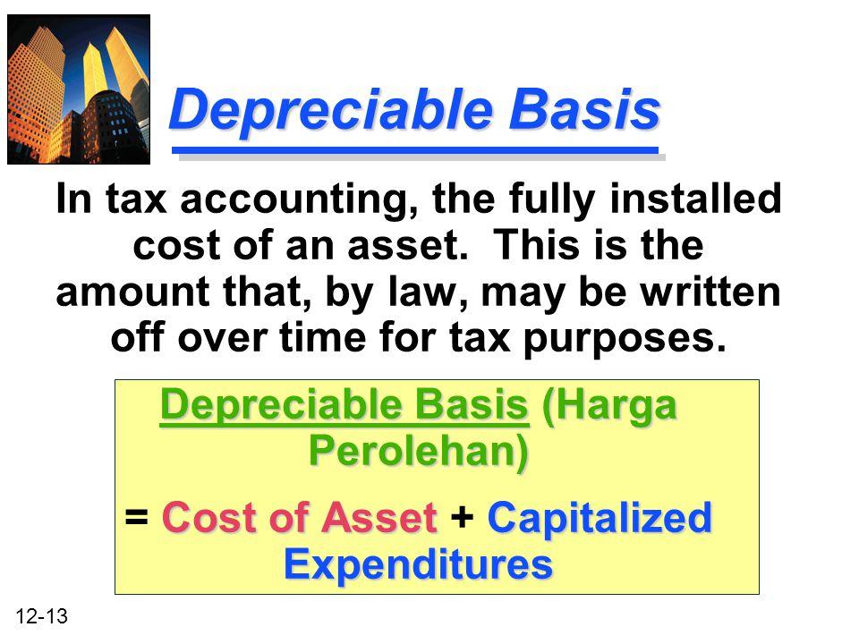 Depreciable Basis