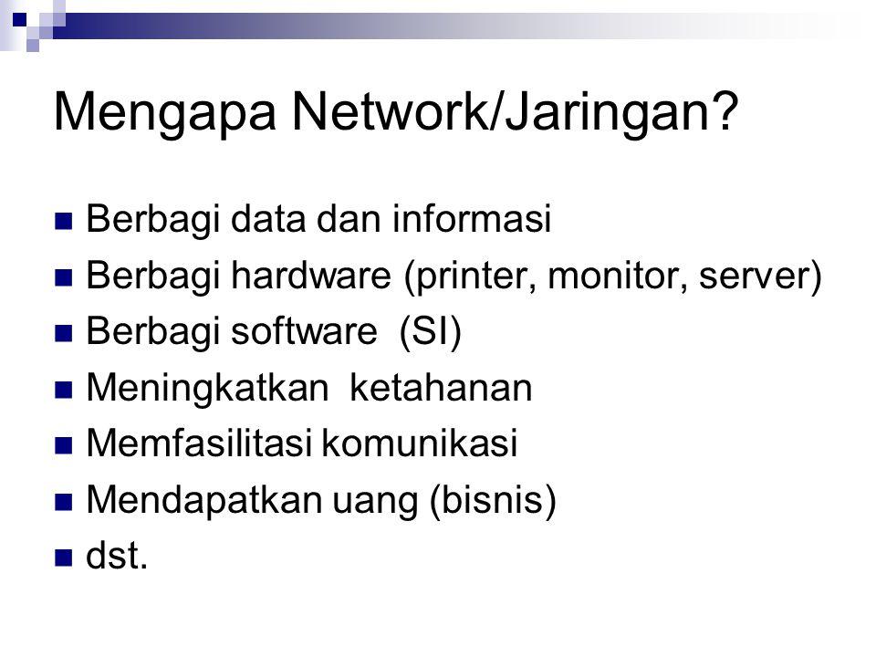 Mengapa Network/Jaringan