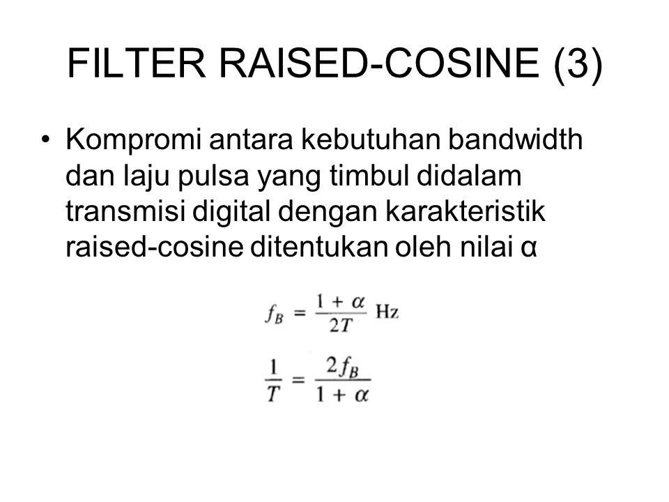 FILTER RAISED-COSINE (3)