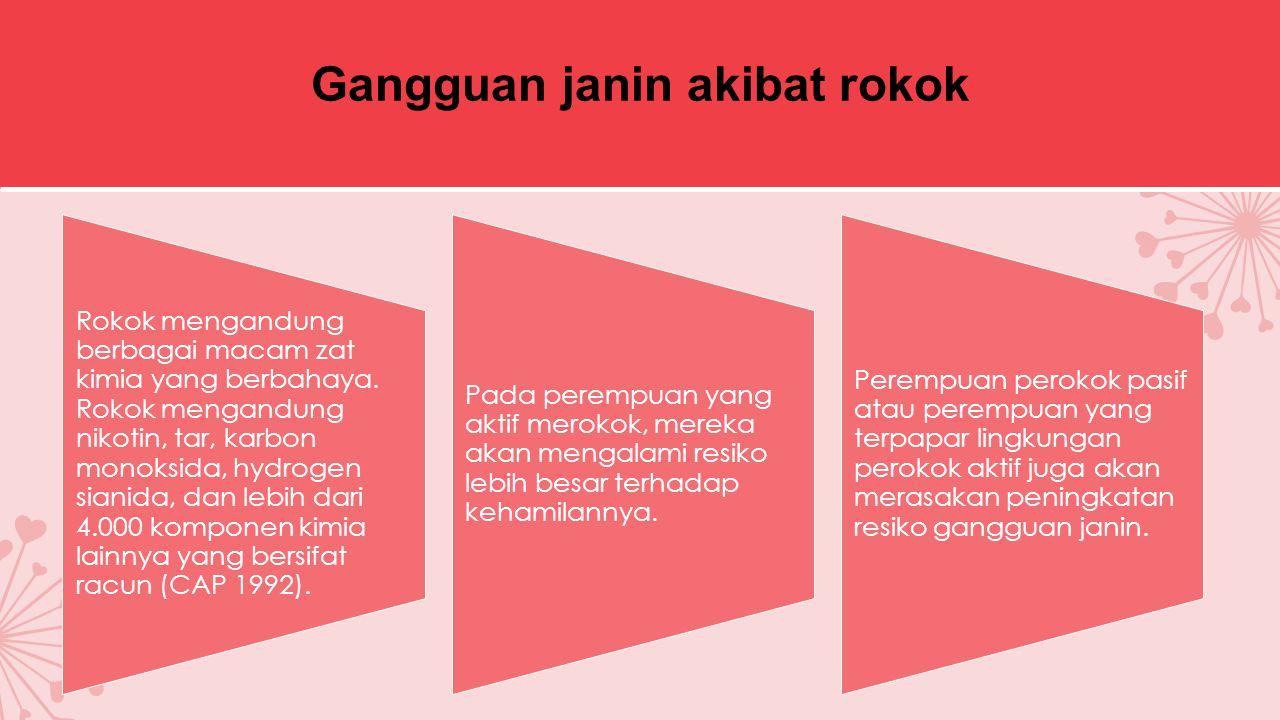 Gangguan janin akibat rokok
