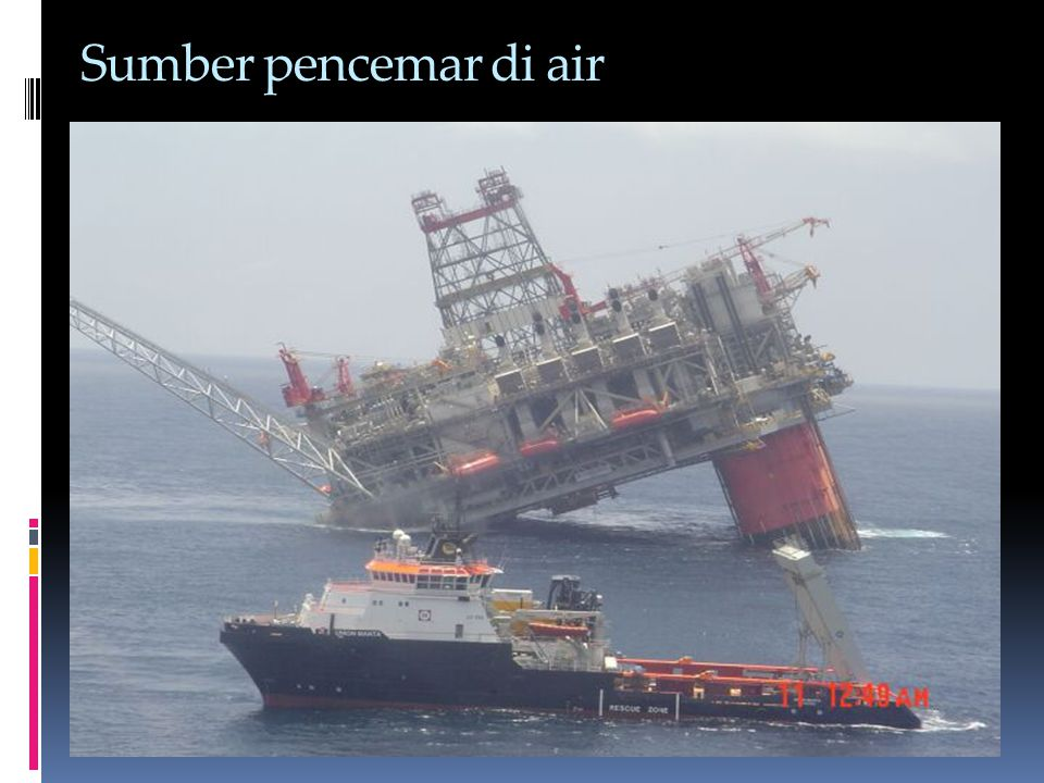 Sumber pencemar di air